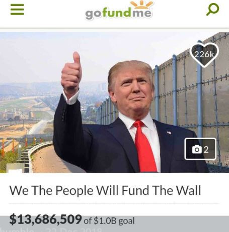 GoFundMe to refund all donations made for the