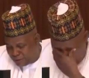 Governor Shettima weeps at meeting with Buhari over Boko Haram resurgence (video)