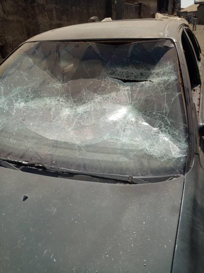 Thugs attack Saraki's residence in Ilorin (Photos)