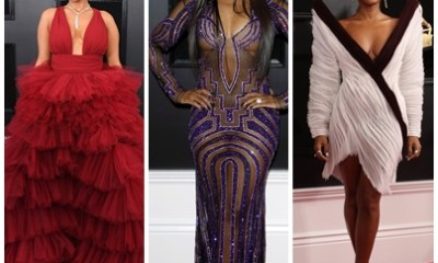 61st Grammy Awards stunning red carpet photos