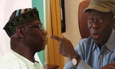 Adams Oshiomhole attacks Obasanjo