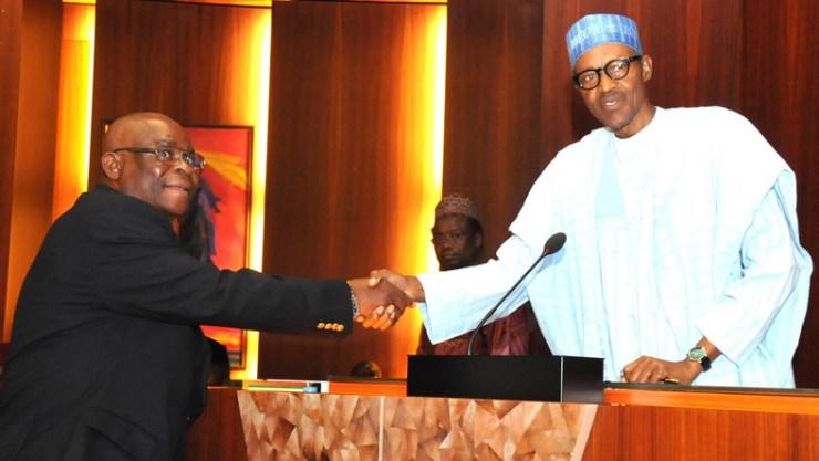 Buhari's suspension of Onnoghen
