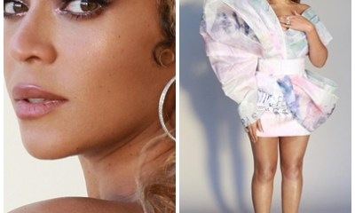 Beyonce shares stunning photos of her outfit to Pre-Grammys Brunch