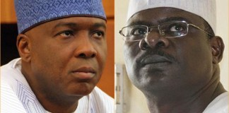 Senator Ndume mocks Saraki over his defeat