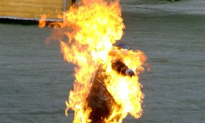Mob burns suspected robber to death in Kwara