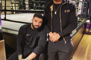 Drake and Anthony Joshua