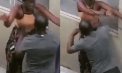Teacher filmed physically assaulting one of his female students in Lagos