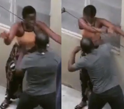 Teacher filmed physically assaulting one of his female students in Lagos (video)