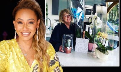 Mel B posts adorable message to mum on Mother's Day