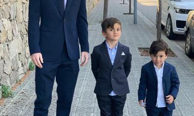 Lionel Messi and Sons