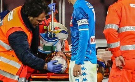 Napoli: David Ospina hospitalised after head injury