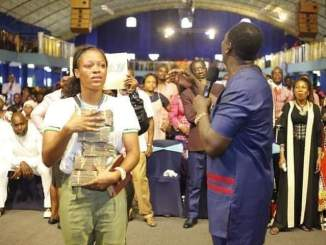 Stephanie Success' viral video uploader gets million from Prophet Jeremiah in Mercyland church