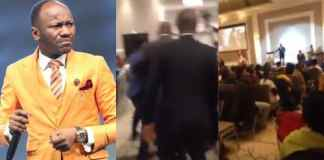 Man attacks Apostle Johnson Suleiman