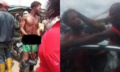 Yahoo boy caught while trying to use 6-year-old for rituals In Delta