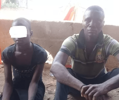 30-year-old man arrested for defiling teenage girl who was chased away from home by her aunt In Abia (photo)
