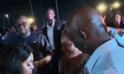 Video of Regina Daniels and her alleged husband Ned Nwoko digging it on the dancefloor