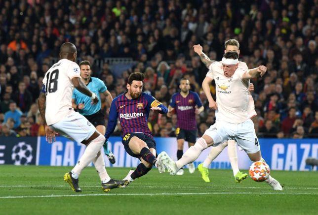 Barcelona vs Man United