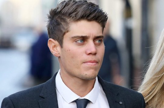 Former cricketer Alex Hepburn guilty of raping woman in WhatsApp 'game'