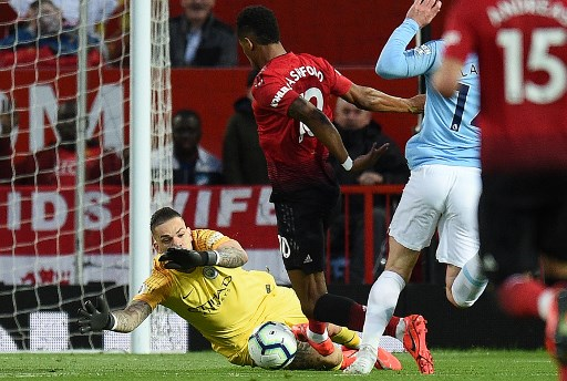 EPL: Manchester City go back top, beat United 2-0