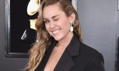 Miley Cyrus goes topless to Easter