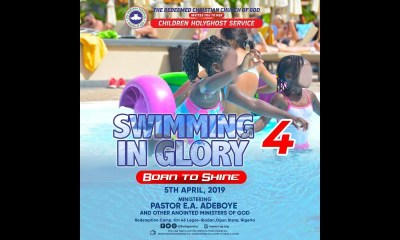 RCCG Holy Ghost Service April 2019 – Swimming In Glory 4