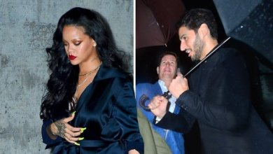 Rihanna and boyfriend Hassan Jameel enjoy date night dinner