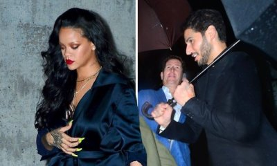 Rihanna and boyfriend Hassan Jameel enjoy date night dinner