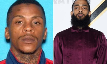 Suspect in Nipsey Hussle's murder captured after he showed up to a mental health facility… see the moment he was arrested (Video)