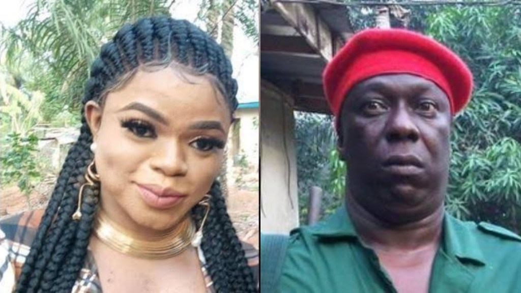 Bobrisky attacks Charles Awurum