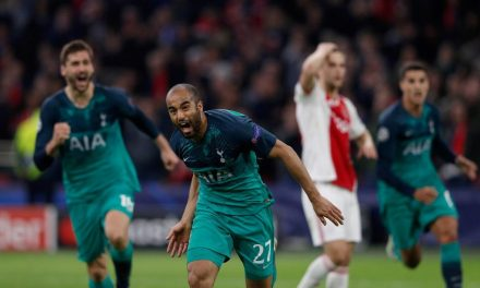 Champions League: Lucas hat-trick takes Tottenham to final