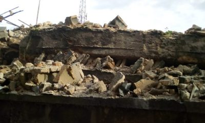 Owerri collapsed building