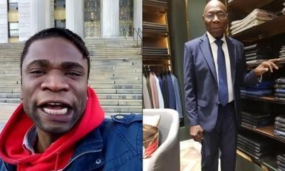 Speed Darlington attacks Obasanjo, calls an international thief