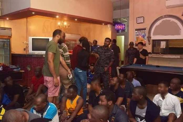 Nigerians arrested in Malaysia for Fraud, Cultism