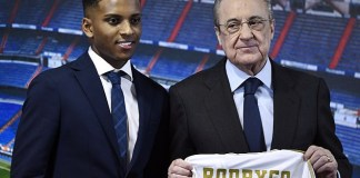 Real Madrid unveils Rodrygo