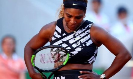 Serena Williams knocked out in the third round of the French Open by Sofia Kenin