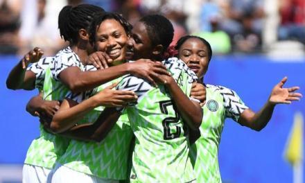 Super Falcons of Nigeria beat South Korea 2-0