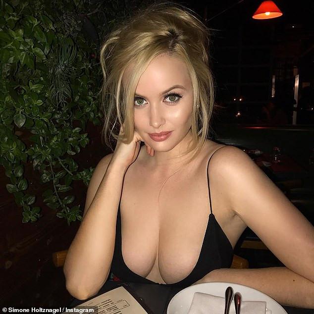 Simone Holtznagel - big boobs
