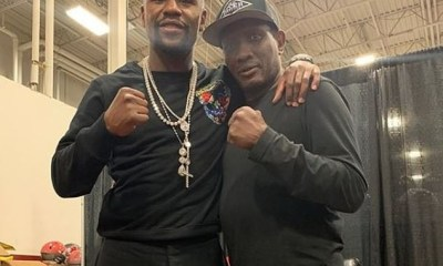 Floyd Mayweather pays tribute to boxing great Pernell 'Sweet Pea' Whitaker