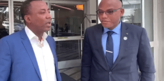 Nnamdi Kanu meets Sowore in New York