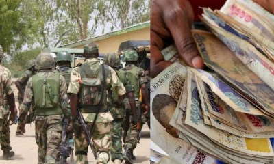 soldiers escorting VIP abscond with billions