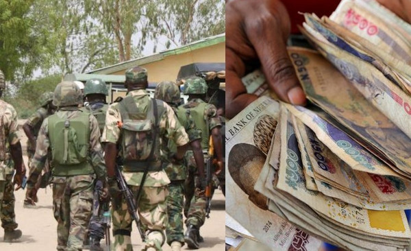 Nigerian soldiers escorting VIP abscond with billions