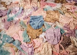 63 female panties discovered in a Zimbabwean graveyard