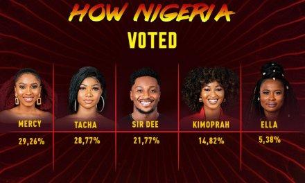 BBNaija 2019: How Nigeria voted