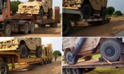 Nigerian Army intercept 'strange' military equipment in Adamawa State