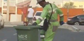 Dancing Nigerian cleaner steals hearts in Abu Dhabi