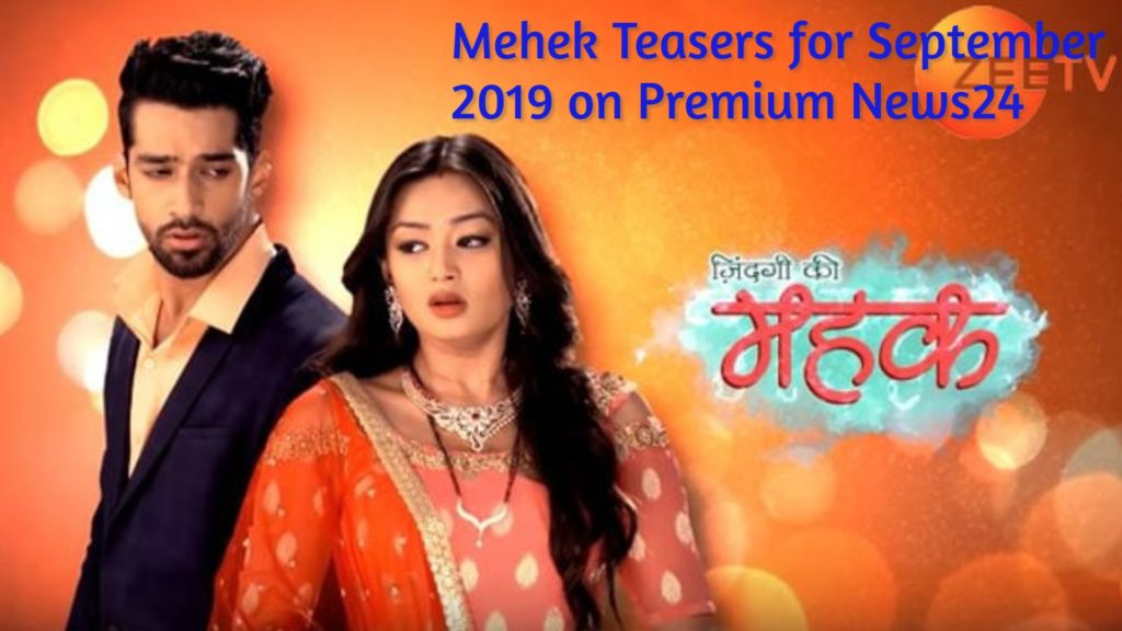 Mehek September 2019 Teasers On Zee World Series