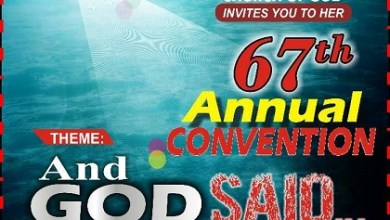 RCCG 67th Annual Convention 2019 - And God Said