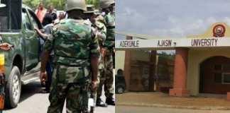 Nigerian Army allegedly rape student of Adekunke Ajasin University