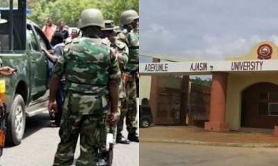Nigerian Army allegedly rape student of Adekunke Ajasin University