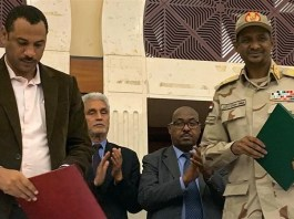 Sudan: Opposition coalition and military council sign accord on transitional government